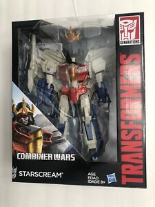 "Transformers Generations Combiner Wars Starscream 9"" Action Figure  NEW!"