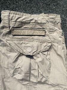 Mens Armani Beige/sand Combat Cargo Pants 32 Waist Regular