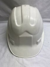 "Vintage 80's Tuf-E Plastic Construction Hard Hat Hardhat Cap USA Size 6 1/2 - 8"""