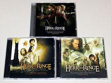 3 CD SAMMLUNG HERR DER RINGE SOUNDTRACK - HOWARD SHORE - LORD OF THE RINGS SCORE