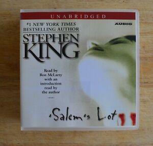 Unabridged Audio Book on 15 compact discs-Salem's Lot: Stephen King
