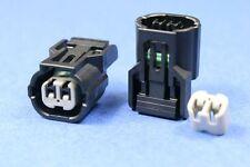 2pins Electrical SENSOR Temperature Sensor Connector Socket Plug 1 kit HX