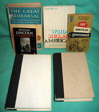 6 Books American Government Abraham Lincoln Democracies Perish Great Rehearsal