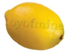 Lemon artificielle Faux Fruits Theater Props Home Decor décoratifs