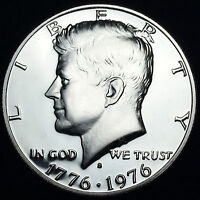 1776 1976 S Kennedy Bicentennial Half Dollar Mint Proof from 1975 US Proof Set