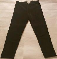 Poofy girls Size L/14 Black Corduroy Leggings