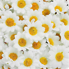 10/50/100Pcs Bouquet DIY Daisy Artificial Fake Flowers Decor Wedding Birthday