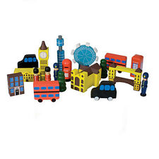 London in a Bag Skyline Wooden Toy City Town Building Pretend Play