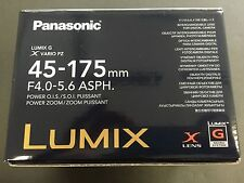 Panasonic LUMIX G X VARIO PZ 45-175mm/F4.0-5.6 ASPH./ POWER O.I.S. H-PS45175-S