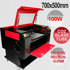 100w 70*50 Machine Laser à Graver CO2 Engraver Machine U-Flash DSP contrôle