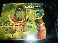 Savage Garden / Darren Hayes Break Me Shake Me Rare Australian 3 Track CD Single