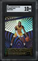 2018 Panini Revolution #6 LEBRON JAMES Shock Wave SGC 10 GEM MINT