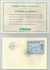 """SVIZZERA - 2000 """"Pizzo di San Gallo"""" francobollo singolo su busta primo giorno"""