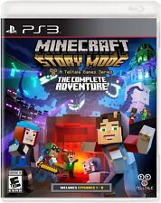 NEW Minecraft: Story Mode -- The Complete Adventure (Sony PlayStation 3, 2016)