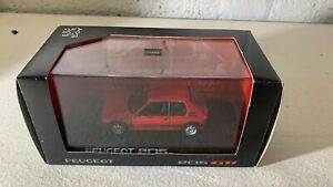 Peugeot 205 GTI Rouge 1/43 NOREV