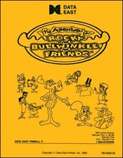 Adventures of Rocky & Bullwinkle Pinball Game FULL Service Repair Manual      WD