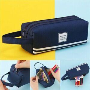 Large Capacity Pencil Cases Bags Creative Korea Fabric Pen Box Pouch Case School