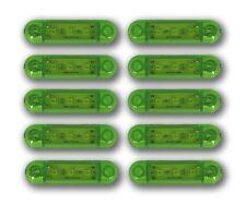 10er-Set Stück 24V 3 SMD LED grün Seite Blinker Ausverkauf Lichter Lastwagen