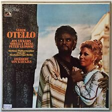 VERDI OTELLO VICKERS FRENI KARAJAN 3LP BOX EMI