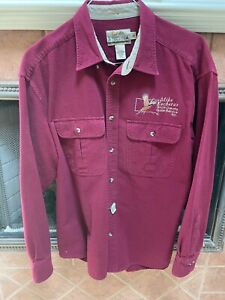 Cabela's Deerskin Chamois Shirt Embroidered
