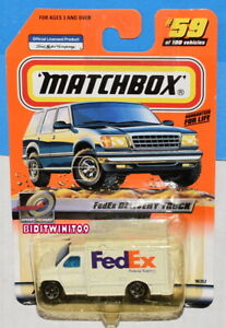 MATCHBOX 2000 FEDEX DELIVERY TRUCK #59