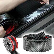 Car Door Sill Scuff Plate Sticker Protector Carbon Fiber Vinyl Parts Accessories