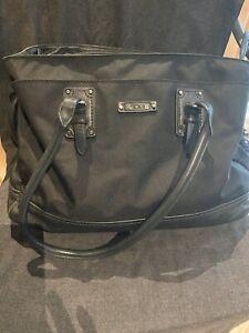 TUMI Black Nylon Women Purse Tote Computer Bag Gorgeous
