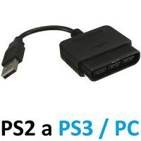 Cable conversor de mando Play 2 a 3 PC mandos PS2 PS3 PS 2 3 pad convertidor USB