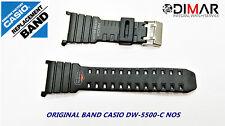 VINTAGE CASIO ORIGINAL BAND DW-5500-C  NOS