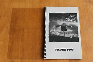 Tom Waits / TOUR ITINERARY / Get Behind The Mule 1999 Tour USA June