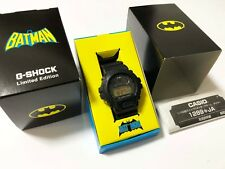 Rare! CASIO G-SHOCK x BATMAN Dark Knight DC Comics Limited Edition Watch DW-6900