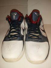 Nike Zoom V Kobe Bryant  USA Olympic White Red Navy Size 13 Rare