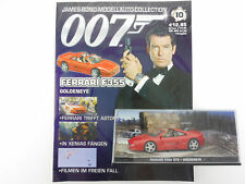 James Bond Collection Heft 10 Ferrari F355 Brosnan Goldeneye OVP 1603-30-28
