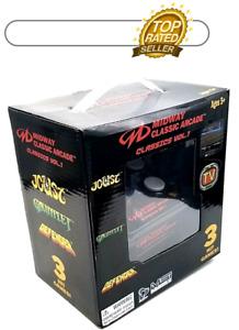 Midway Classic Arcade Vol 1 Plug N Play Game Joust Gauntlet Defender