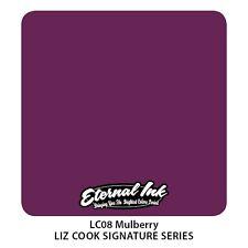 Genuine ETERNA Tattoo Ink-Mulberry-Scaduto Ma Nuovo di Zecca 2oz (60ml)
