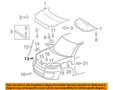 Scion TOYOTA OEM 08-15 xB Hood-Support Rod Clip 5345412020
