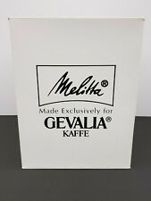 Melitta Gevalia Kaffe Coffee Maker Model BCM-4 White