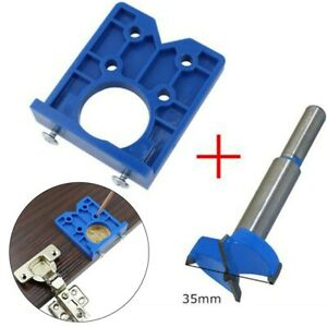 Hand Tools Hinge Jig For Furniture Mounting Installation Locator Durable