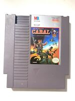 Cabal ORIGINAL NINTENDO NES GAME Tested WORKING Authentic!