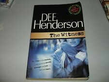 The Witness by Dee Henderson (2006, Paperback) Rare - Signed by Author, VG