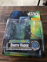 Star Wars Power of the Force Darth Vader with Glowing lightsaber