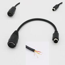 "Mini DIN6 MDIN6 PS/2 Male to DIN5 AT Female PC Mac Keyboard Adapter Converter 6"""