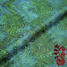Chinese Satin Faux Silk Fabric Brocade Dress Costume Cheongsam Tang Suits Crafts