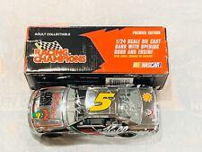 TERRY LABONTE & HENDRICK SIGNED 1996 RC NASCAR 1/24 CHROME CHASE BANK!!!!!!!!
