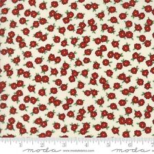Moda Hop Skip And A Jump by American Jane 21705 19 Cherry/Cream Small Cotton BTY