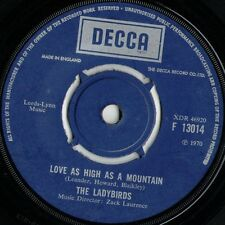 "The Ladybirds Love As High As A Mountain (16648) 7"" Single 1970 Decca F 13014"