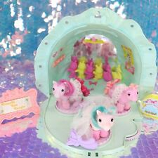 Vintage My Little Pony BABY BONNET SCHOOL OF DANCE & BABY HALF NOTE G1 MLP G000