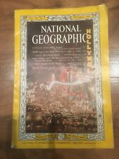 National Geographic Magazine October 1962