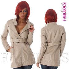Women's Solid Basic Coats