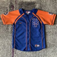 Nike Mlb New York Mets David Wright Baseball Jersey Youth Kids Small